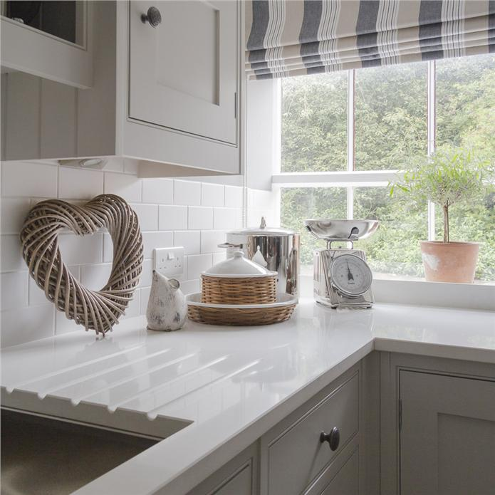 Farrow ball inspiration for Country style kitchen blinds