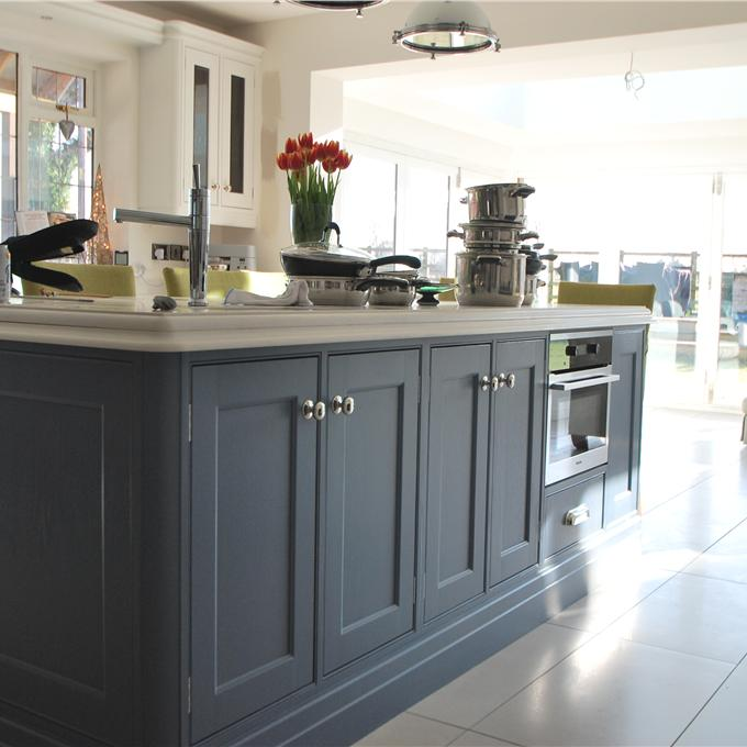 Farrow And Ball Kitchen Cabinets: Cook's Blue