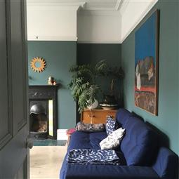 Edwardian Living Room In Inchyra Blue