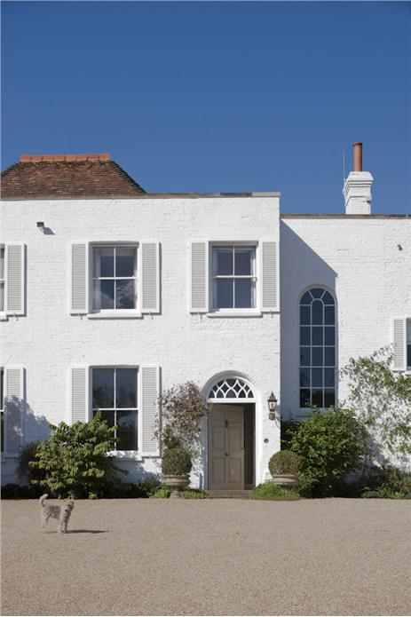 with exterior in wimborne white exterior masonry shutters in wimborne. Black Bedroom Furniture Sets. Home Design Ideas