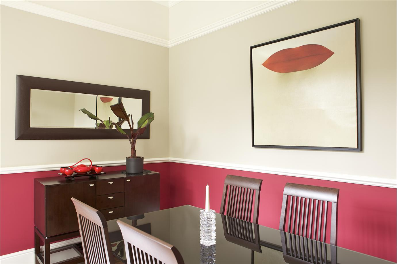 Dining Room In Rectory Red Stony Ground