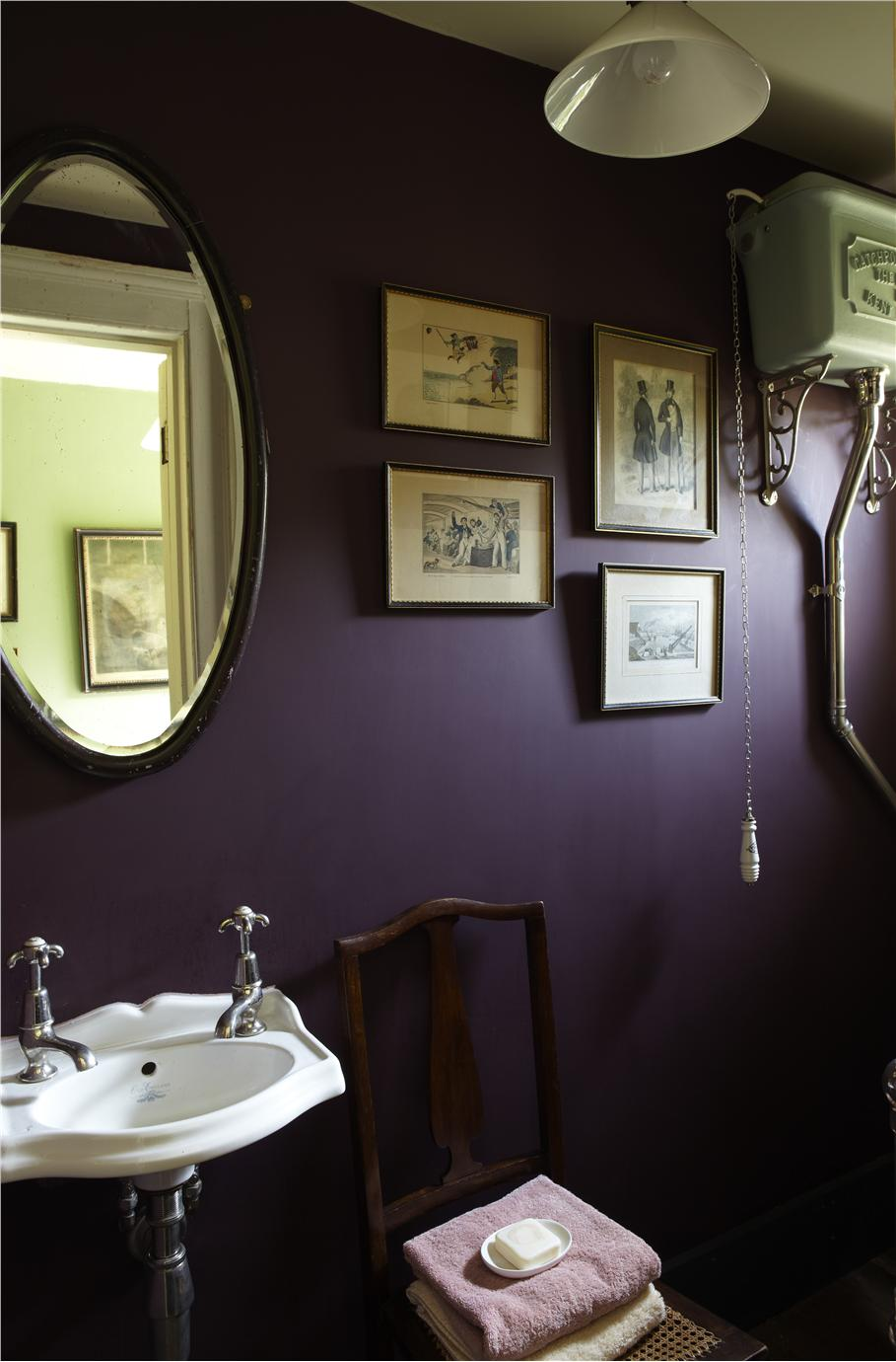 Farrow And Ball Paint Brown Colour