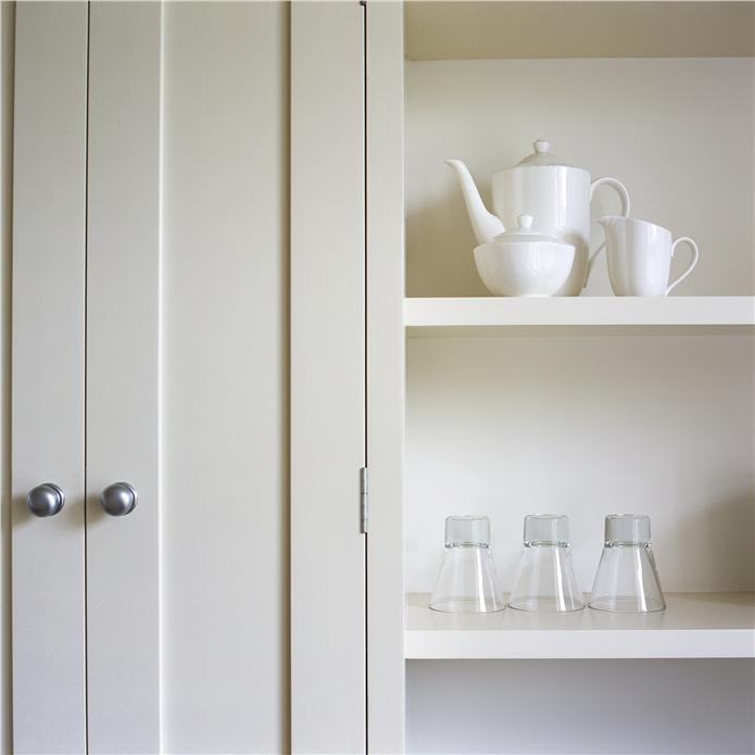 Timeless Kitchen With Old White Farrow And Ball On The: Farrow & Ball Inspiration