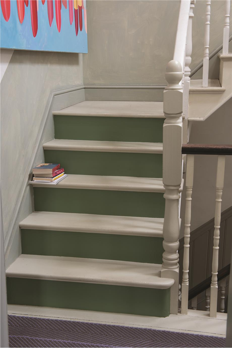Farrow ball inspiration - Painted stairs ideas pictures ...