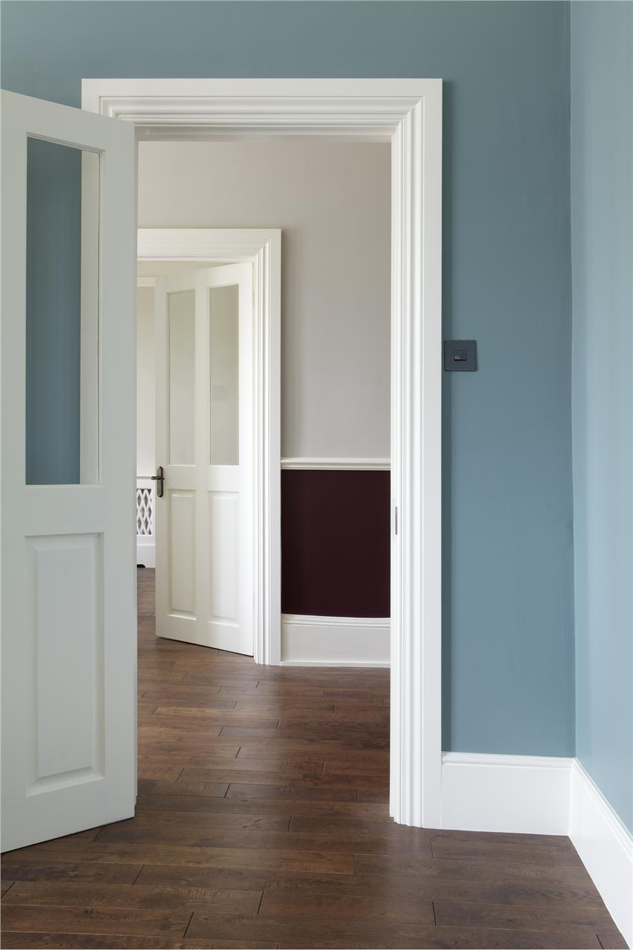 hall in oval room blue cornforth white brinjal contributed by farrow ball - Farrow And Ball Brinjal