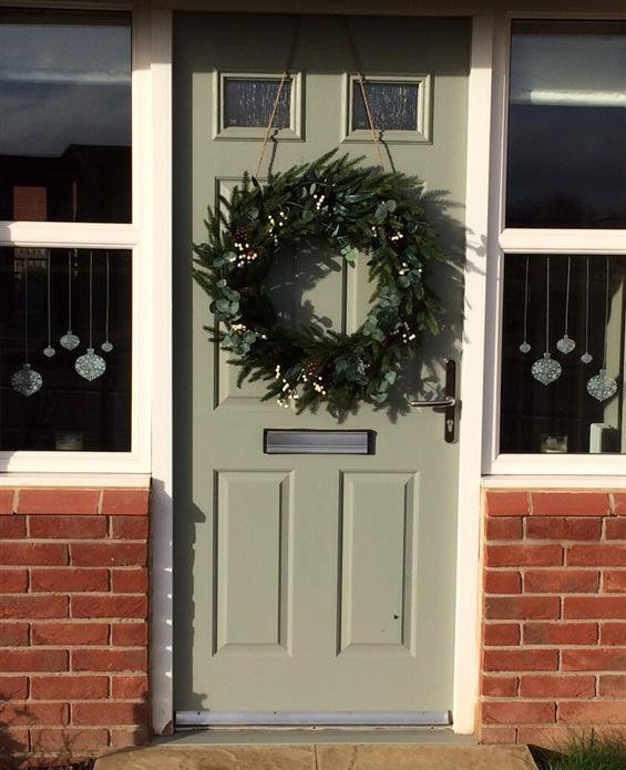 15 Festive Front Doors The Chromologist