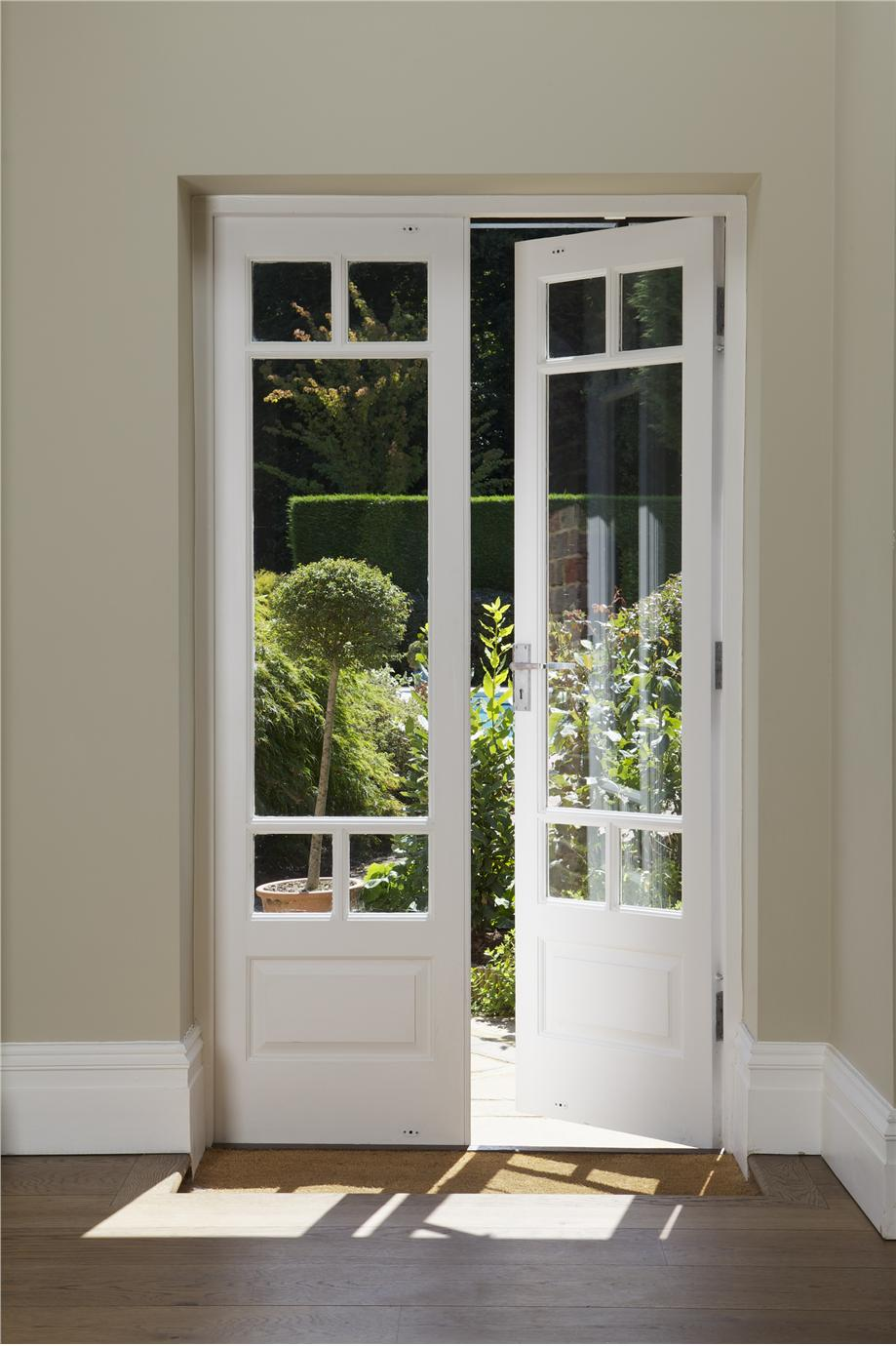 Farrow ball inspiration for Narrow french patio doors