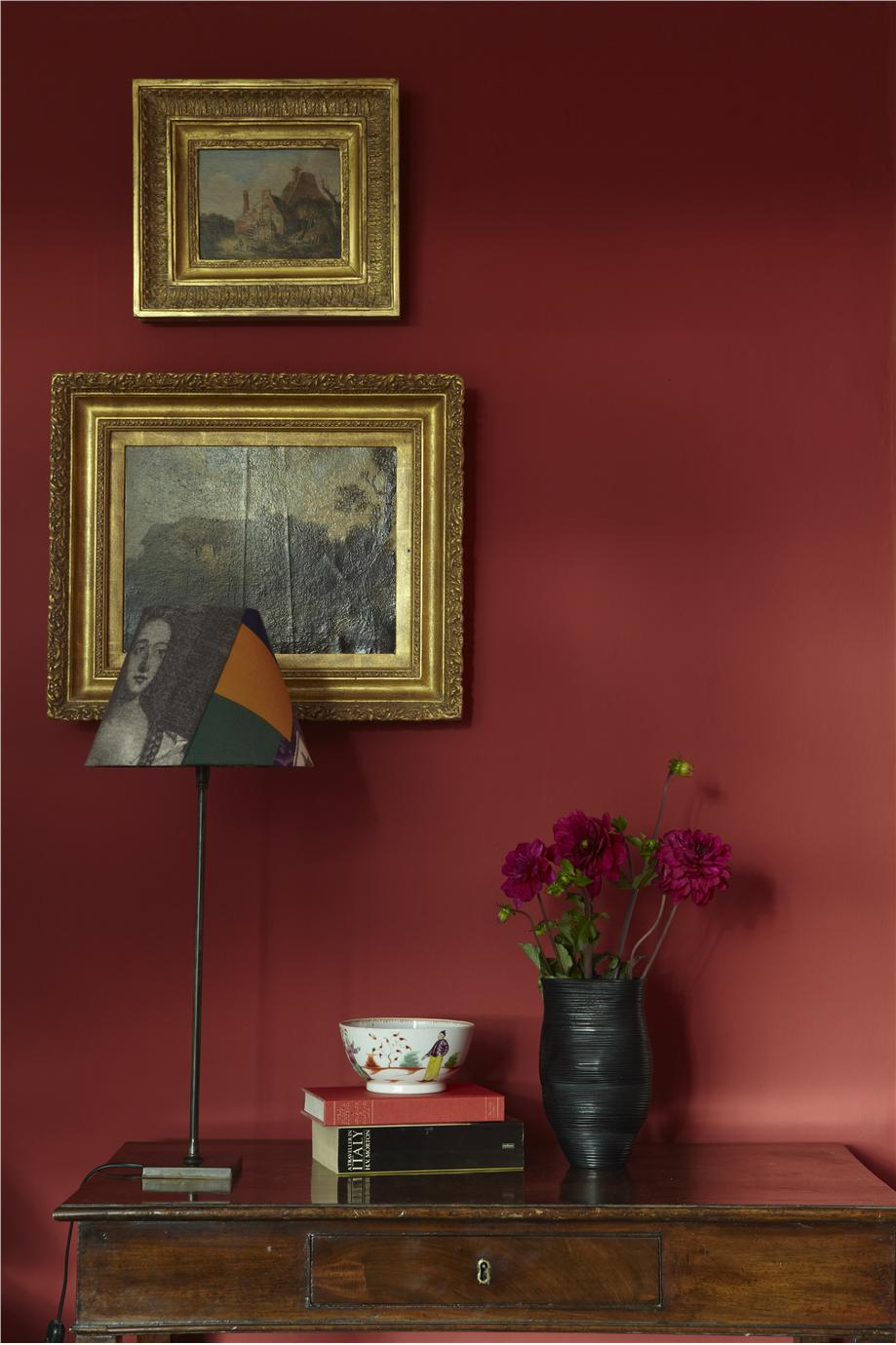 Red Colour Wall: Farrow & Ball Inspiration