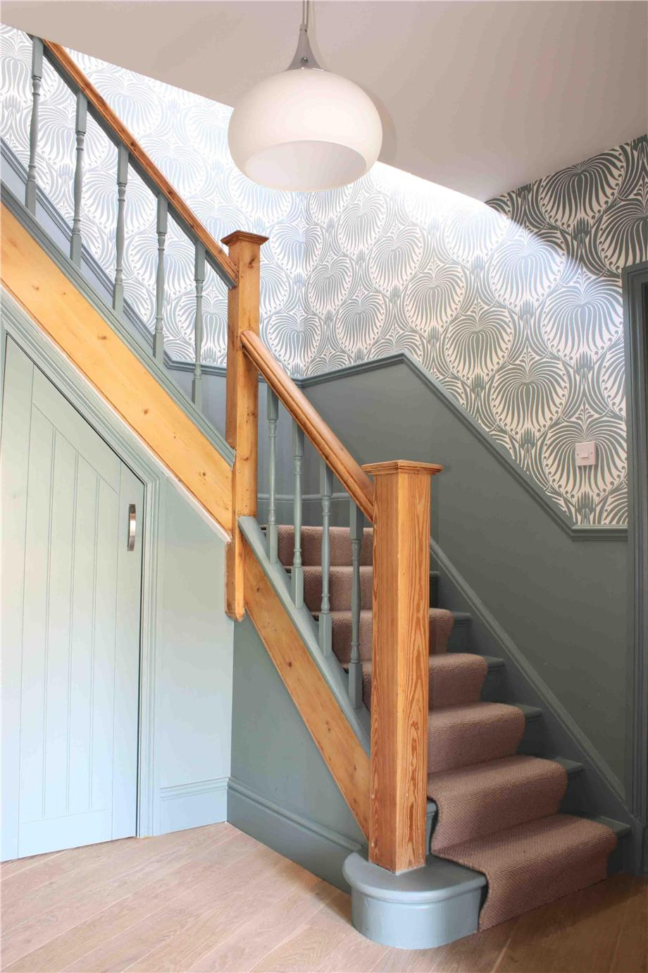 Oval Room Blue Stairs