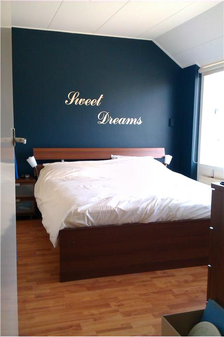 Bedroom Inspiration Blue Walls