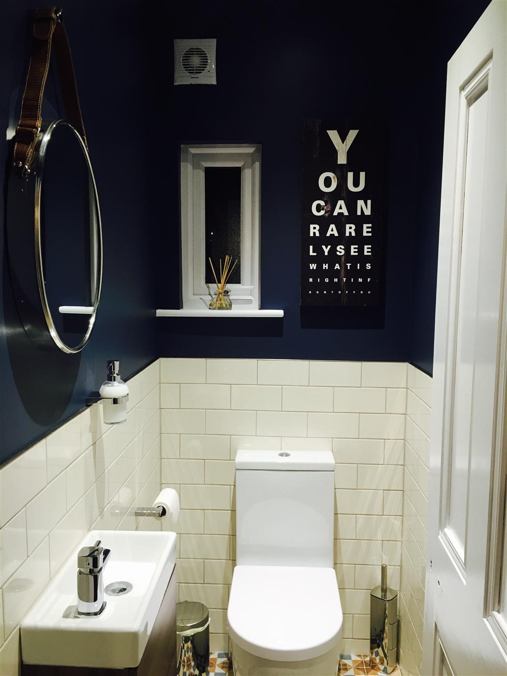 Small Cloakroom Ideas Downstairs Toilet