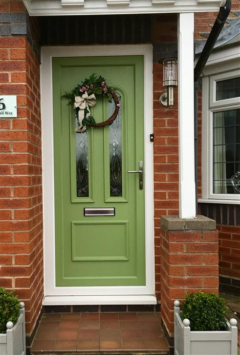 Yeabridge Green Door