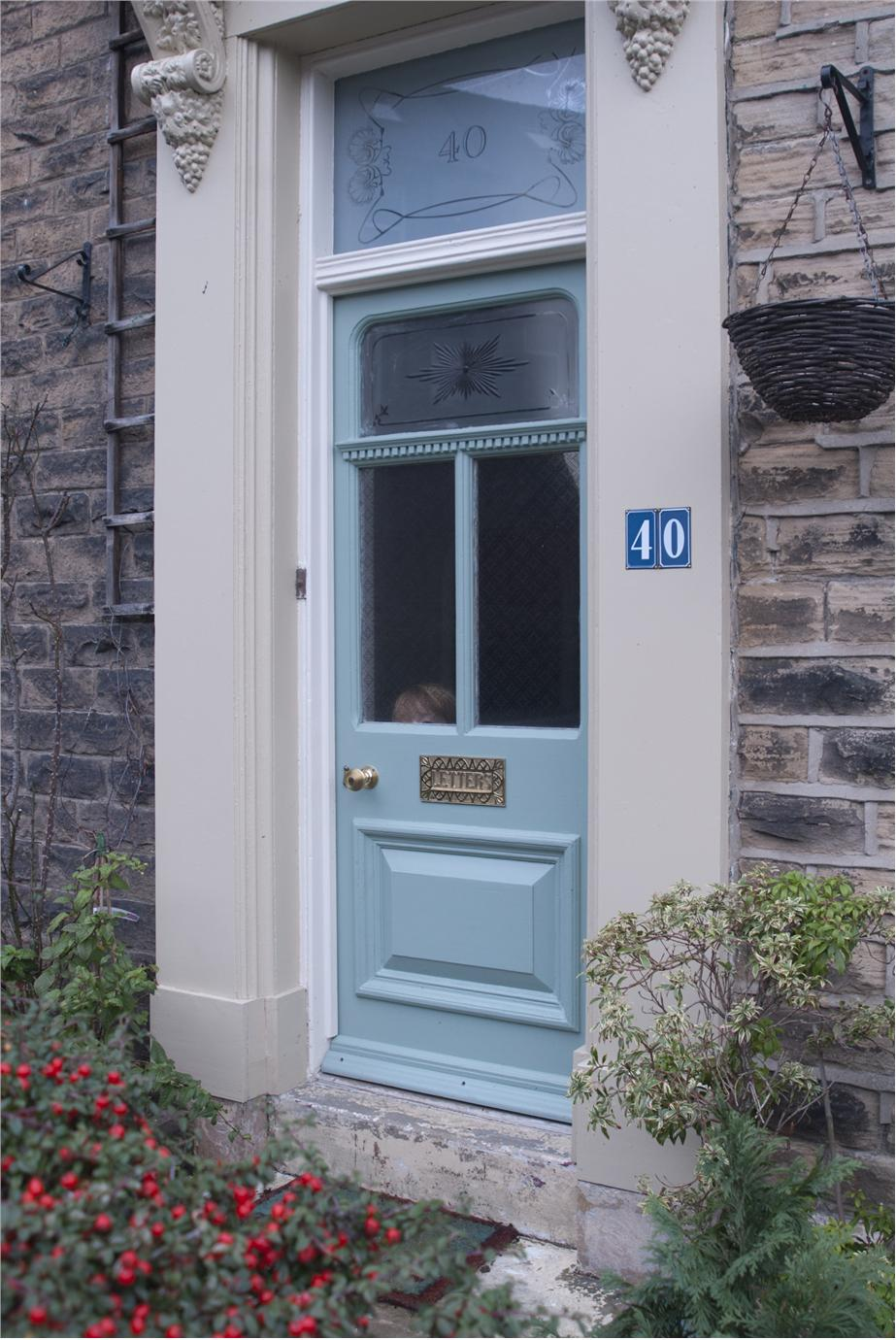Amazing Farrow And Ball Chappell Green Front Door Images - Image ...